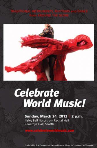 Celebrate World Music! poster