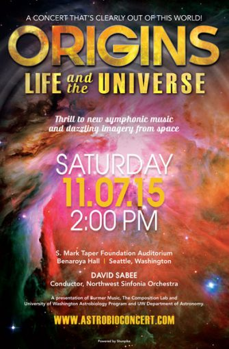 Origins: Life and the Universe poster