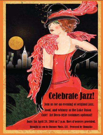 Celebrate Jazz! Poster